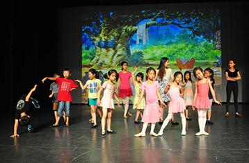 临近演出-北京儿童芭蕾培训