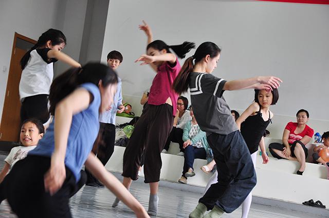 16年即兴工作坊-北京儿童芭蕾培训